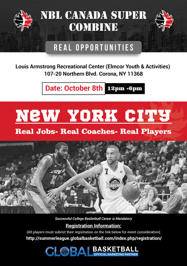 NBL Canada Super Combine (New York City