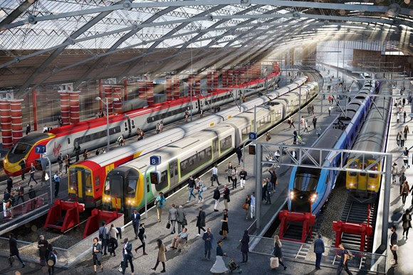 Liverpool to stay on the move this summer during the final phase of Lime Street's major upgrade