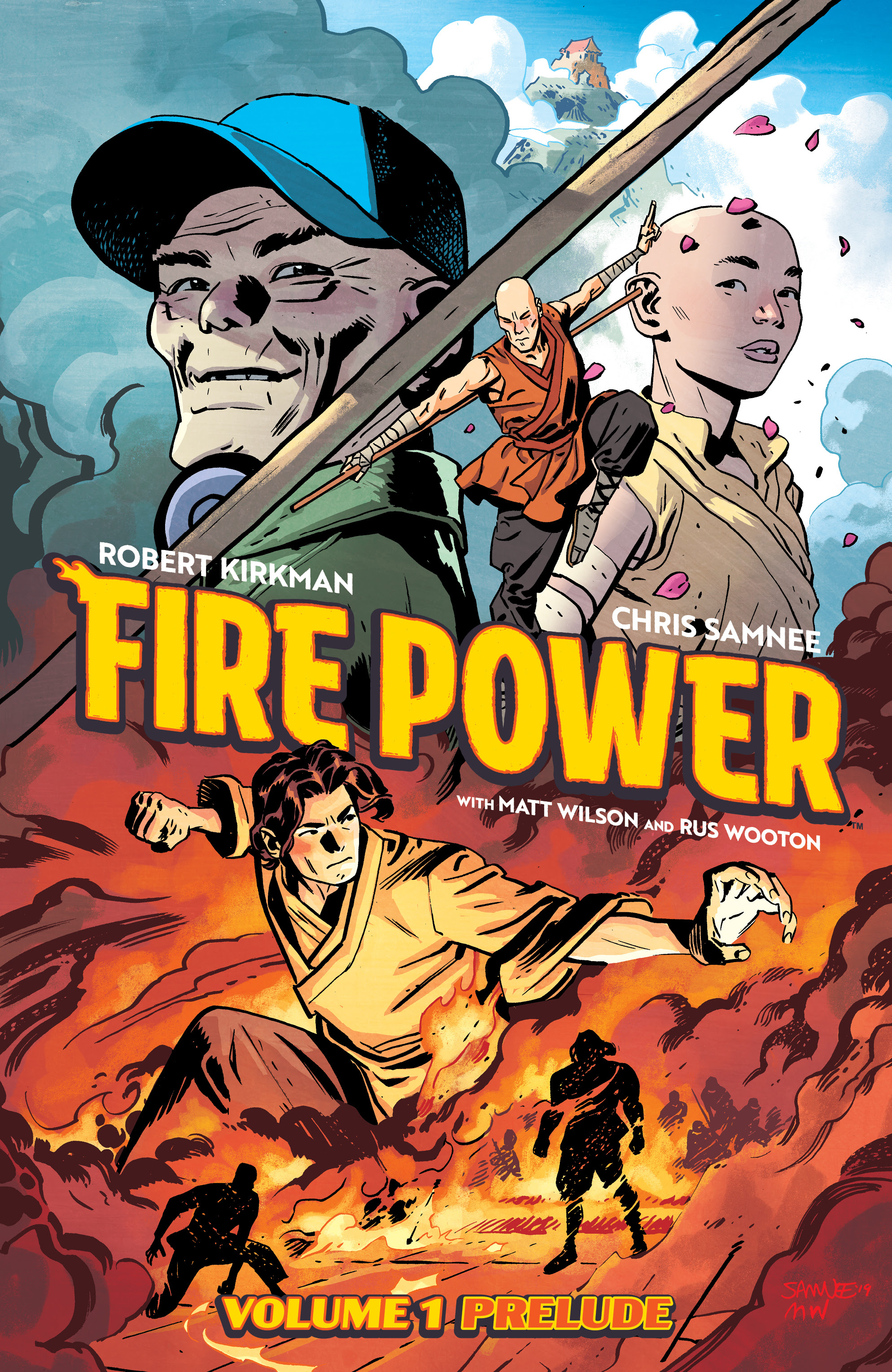 Image announces 'Fire Power' prelude graphic novel