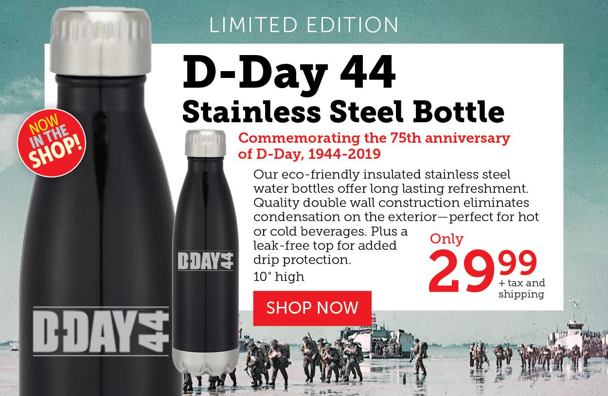 Stainless steel bottle!