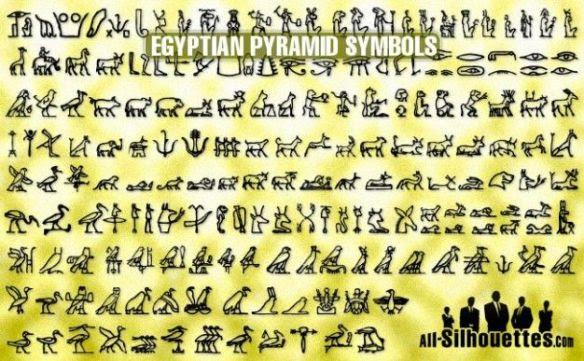 Egyptian Pyramid Symbols