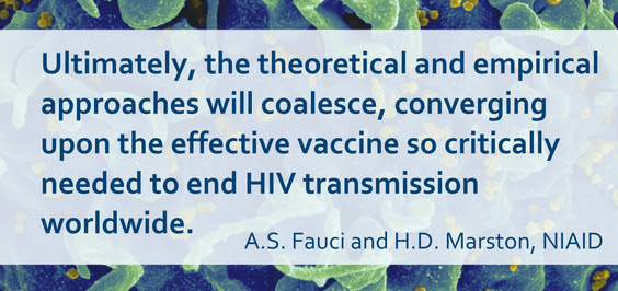 Quote from Drs. Fauci and Marston