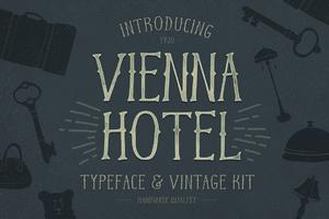Vienna Hotel – Handmade Typeface