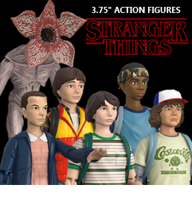 STRANGER THINGS 3.75-INCH FIGURES