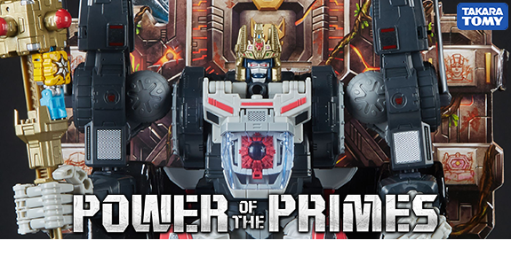 Transformers Power of the Primes PP-43 Throne of The Primes Optimus Primal