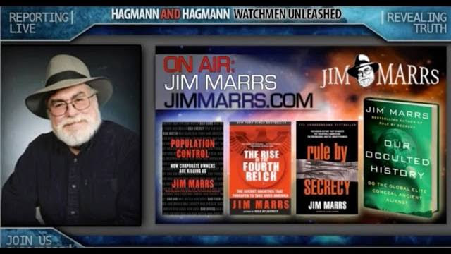 The Lost Secrets of the Gods with Jim Marrs on The Hagmann Report