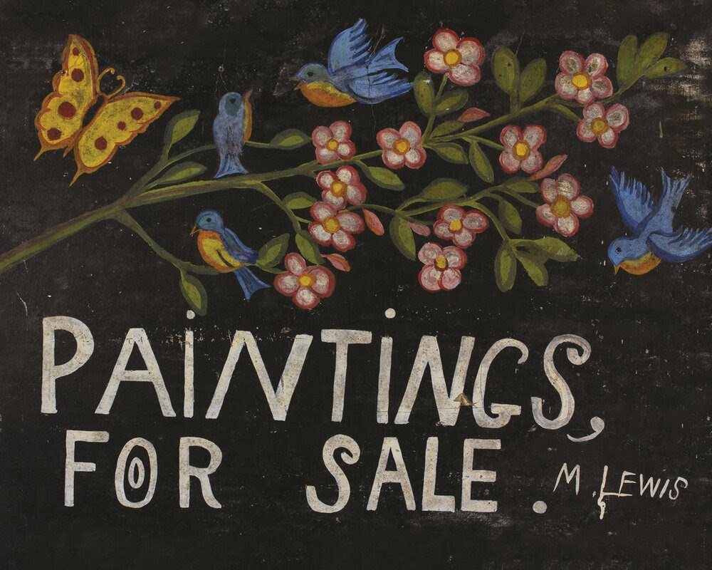 Cover for Maud Lewis: Paintings for Sale