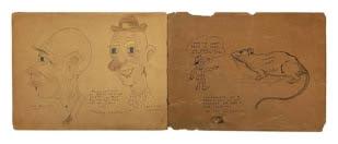 Walt Disney's Personal WWII Scrapbook