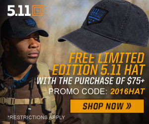 FREE Limited Edition 5.11 Hat.