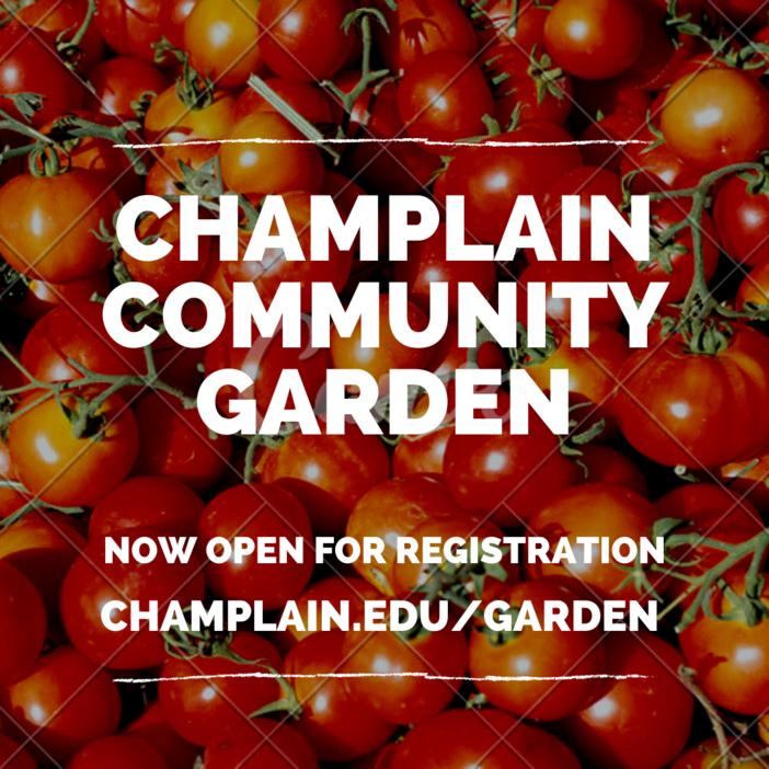 Community Garden Now Open for Registration