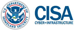 Cybersecurity and Infrastructure Security Agency Logo