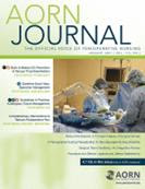 Latest cover of AORN Journal (2018-)