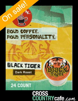 Black Tiger Keurig K-cup coffee