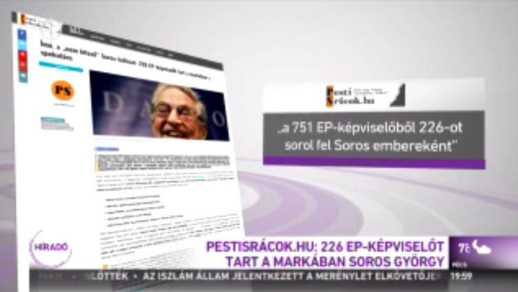 Íme, a nem létező Soros-hálózat: 226 EP-képviselőt tart a markában a spekuláns