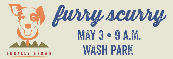Furry Scurry May 3, 9 a.m. at Wash Park
