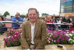 Brian Sanfratello, executive secretary for the Pennsylvania Horse Breeders Association