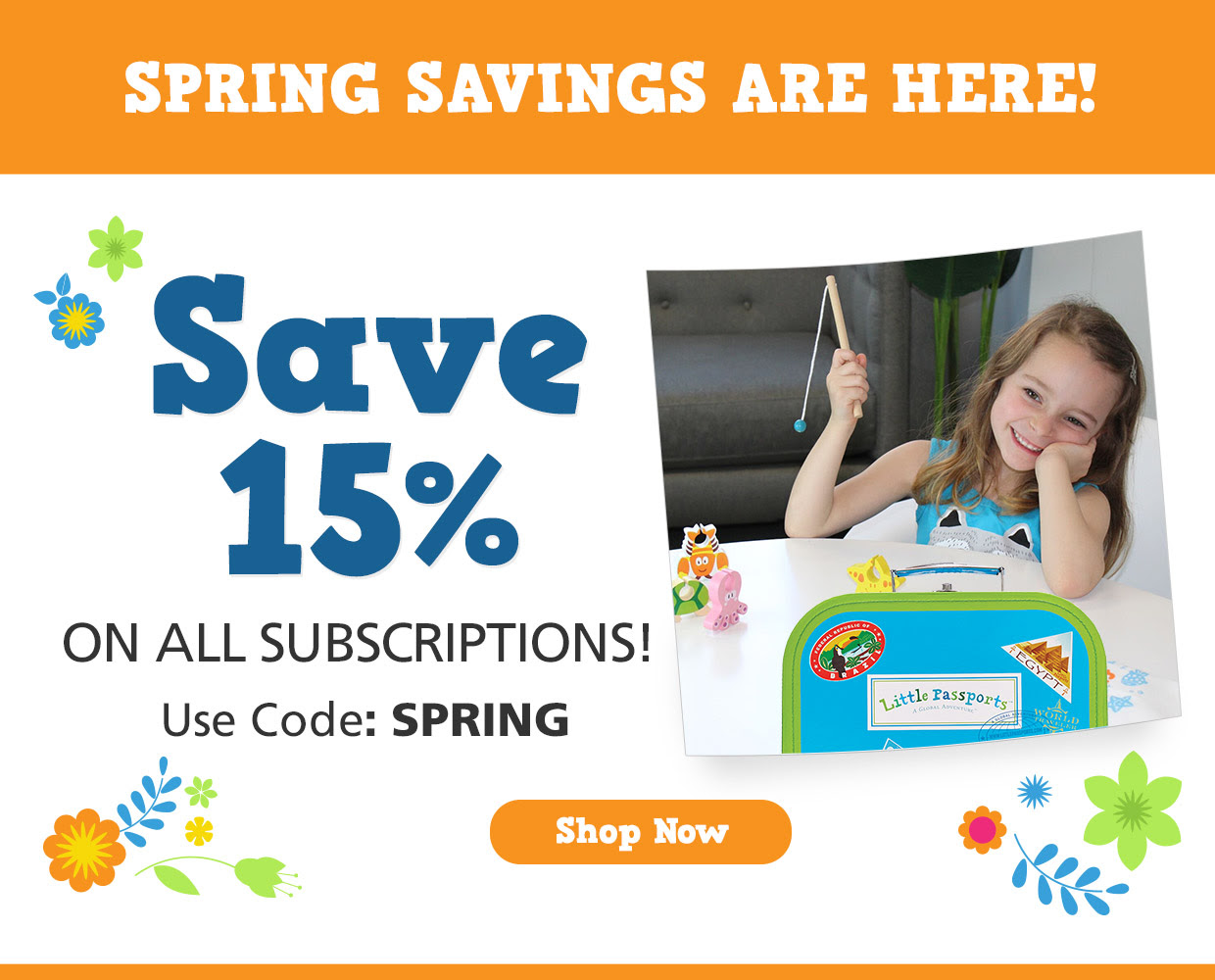 Save 15% on All subscriptions.