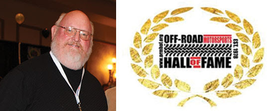 Jim Bramham is inducted into the Off-Road Hall of Fame