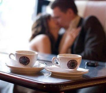 תוצאת תמונה עבור קפה רומנטי