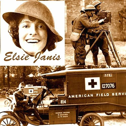 Elsie Janis, USA Signal Corps, AFS