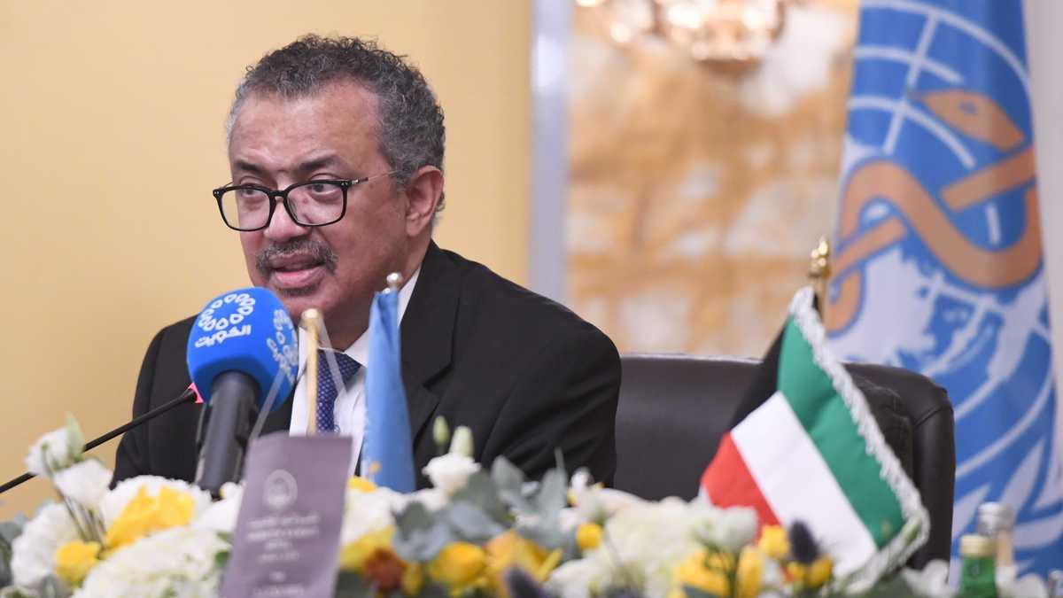 World Health Organization Director-General, Tedros Adhanom Ghebreyesus