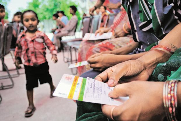 UIDAI website says that every citizen is entitled to voluntarily obtaining Aadhaar. Photo: Mint