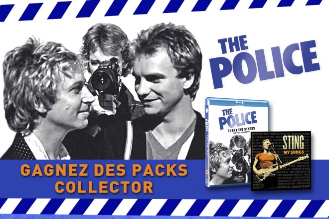 Jeu concours The Police pack collector