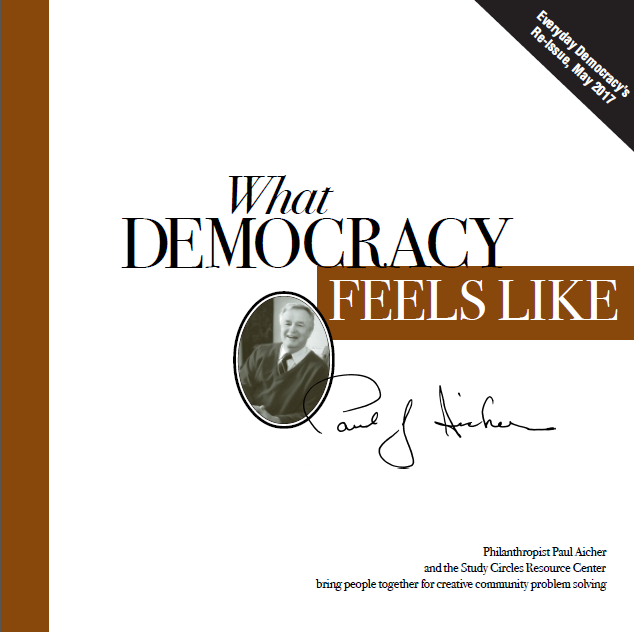 What Democracy Feels Like cover
