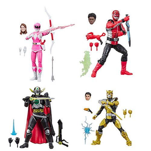 Image of Power Rangers Lightning Collection Wave 2 - Set of 4 Figures - OCTOBER 2019