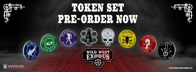 Wild West Exodus Token Set