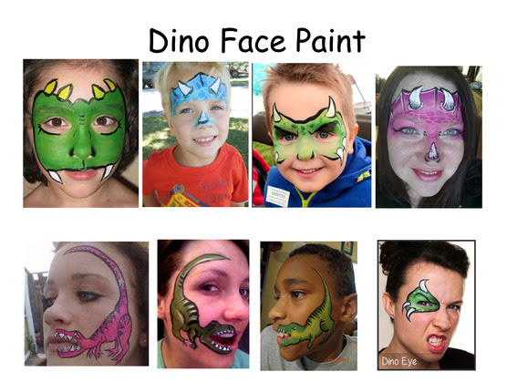 Dino Face Paint_001_001