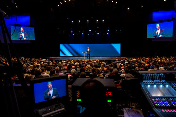The Gateway Church in the Dallas-Forth Worth area is one of the largest churches in the country.