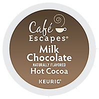 Cafe Escapes Milk Chocolate K-Cup® Hot Cocoa