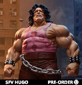Street Fighter V Hugo 1/4 Scale Statue