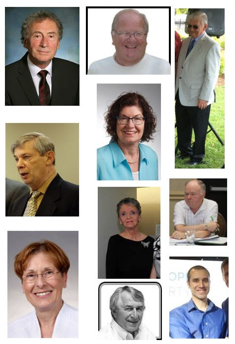 Pictures of the Site Selection Committee members