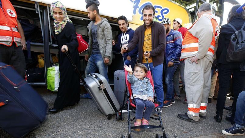 La commune de Champagne-sur-Seine (Seine-et-Marne) a accueilli cette semaine une centaine de réfugiés Syriens et Irakiens.