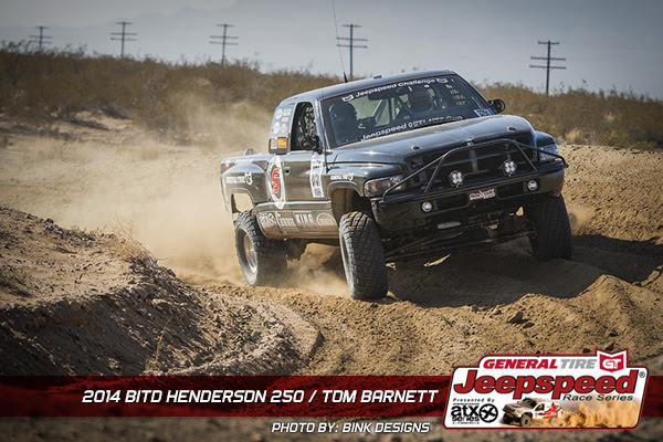 Tom Barnett, Jeepspeed, Dodge Ram, T&J Performance