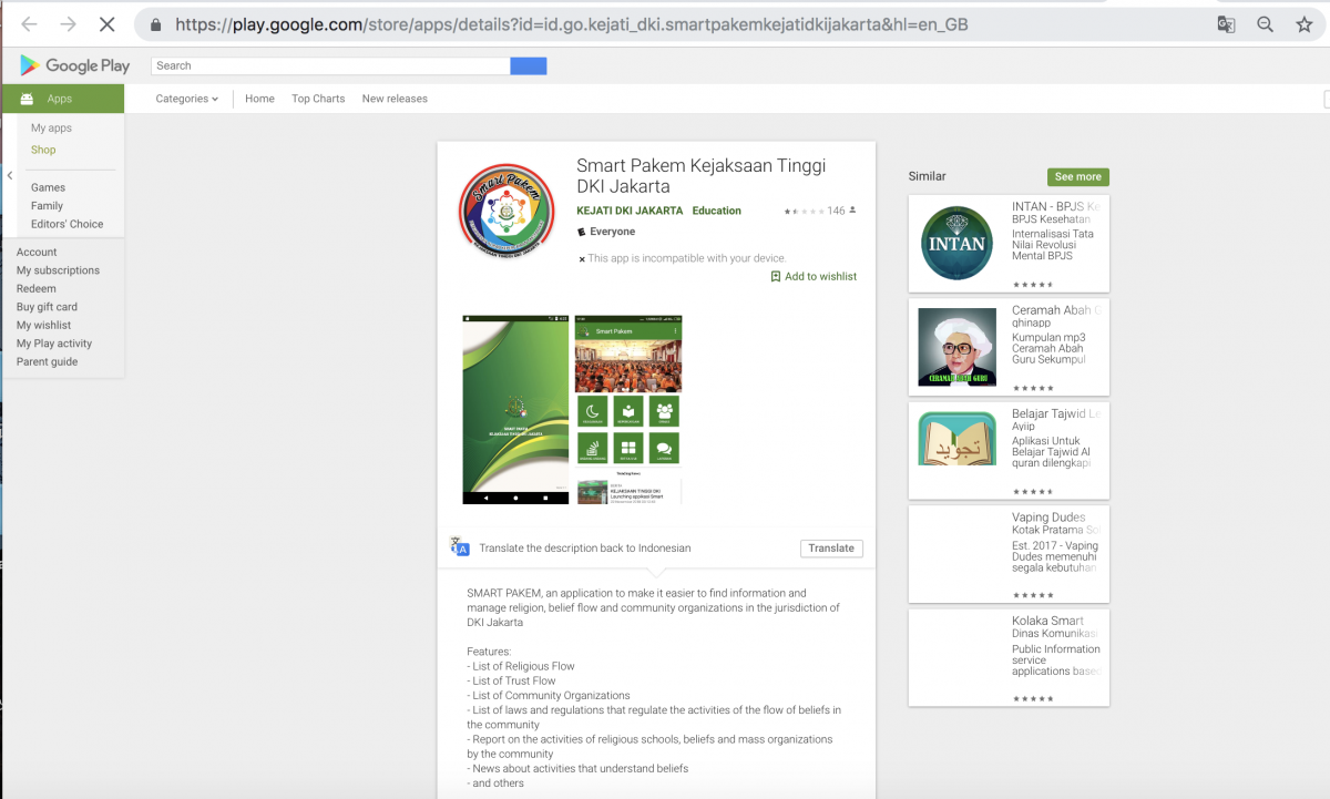Google Approves App For Muslims To Report People Who Commit Blasphemy