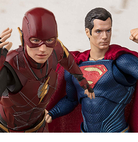 JUSTICE LEAGUE S.H.FIGUARTS FIGURES