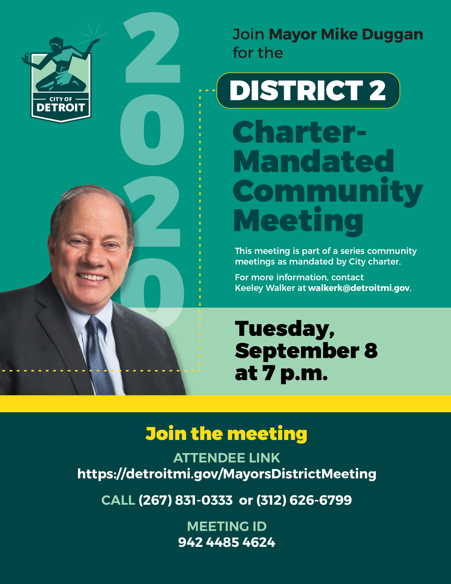 Mayor's Charter Meeting - District 2