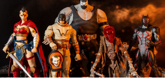 Last Knight on Earth DC Multiverse (Collect to Build: Bane)
