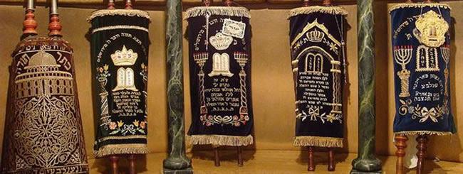 8 rouleaux de la Torah aussi extraordinaires et divers que le peuple juif