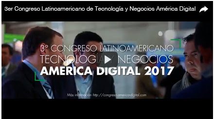 3 congreso america digital_ Iot_ Smart Cities_ Mobile_ Big Data_ Cloud