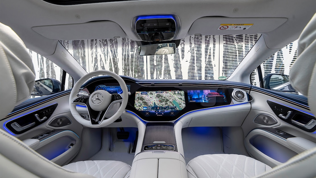 The 2022 Mercedes-Benz EQS is luxury electrified