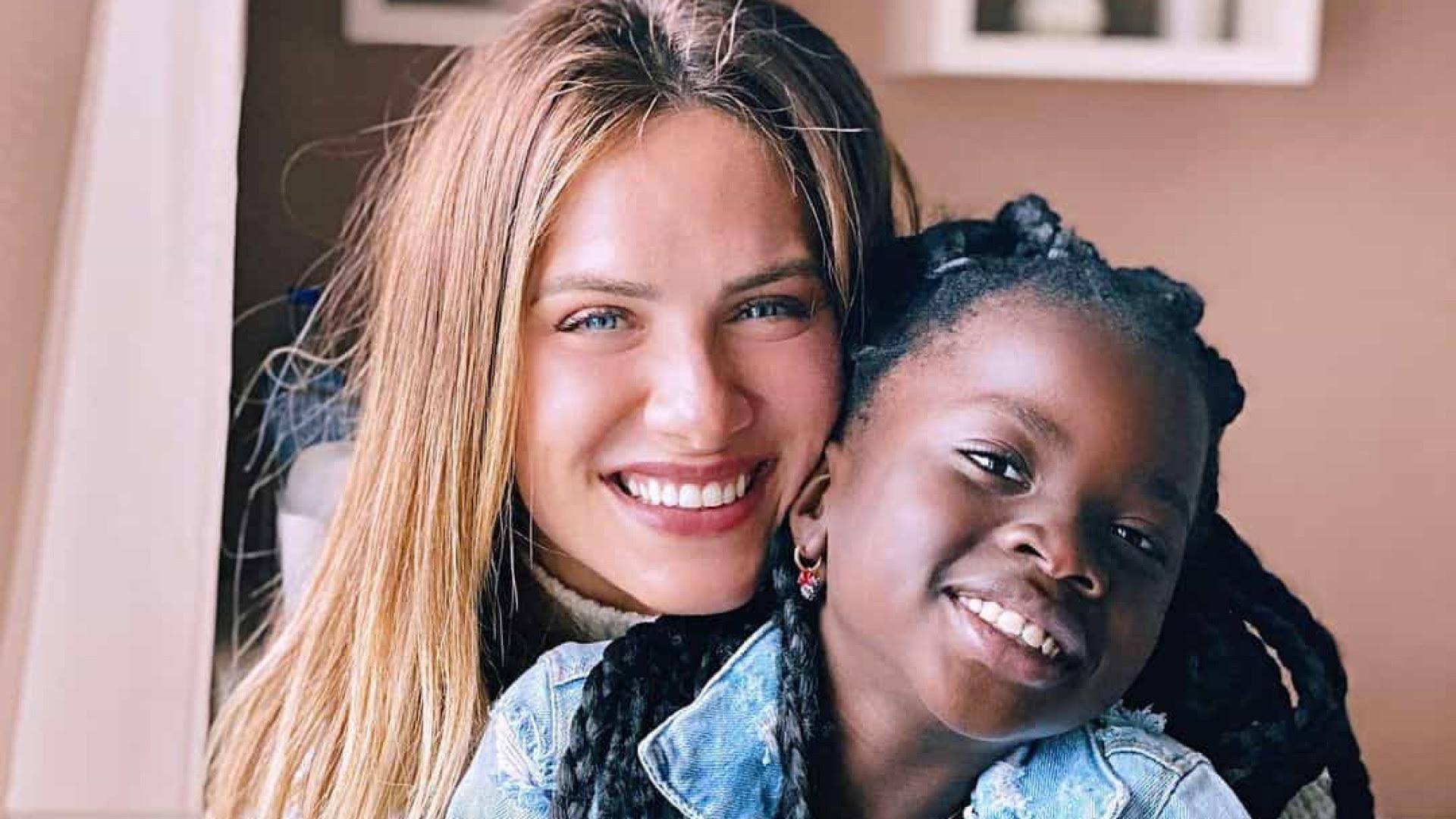Morando em Portugal, Giovanna Ewbank celebra aniversário da filha