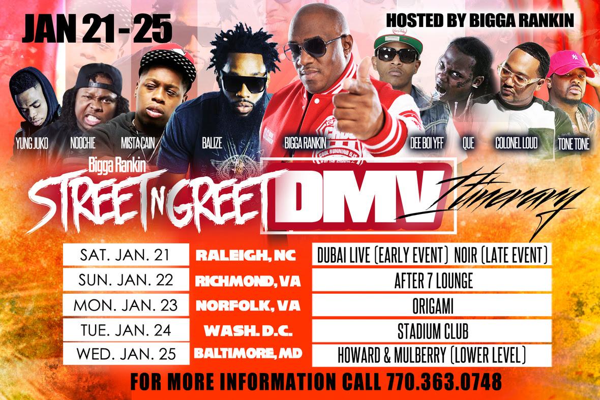 DMV All Dates