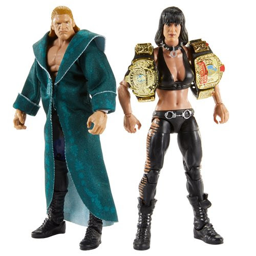 Image of WWE Triple H and Chyna Elite Collection 2-Pack - AUGUST 2020