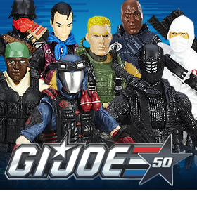 50TH ANNIVERSARY G.I. JOE BBTS EXCLUSIVE FIGURES