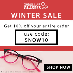 Get $9 off every pair of glass...