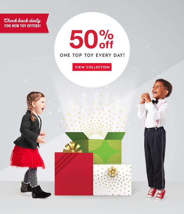 50% off Top Toys through 12/24!